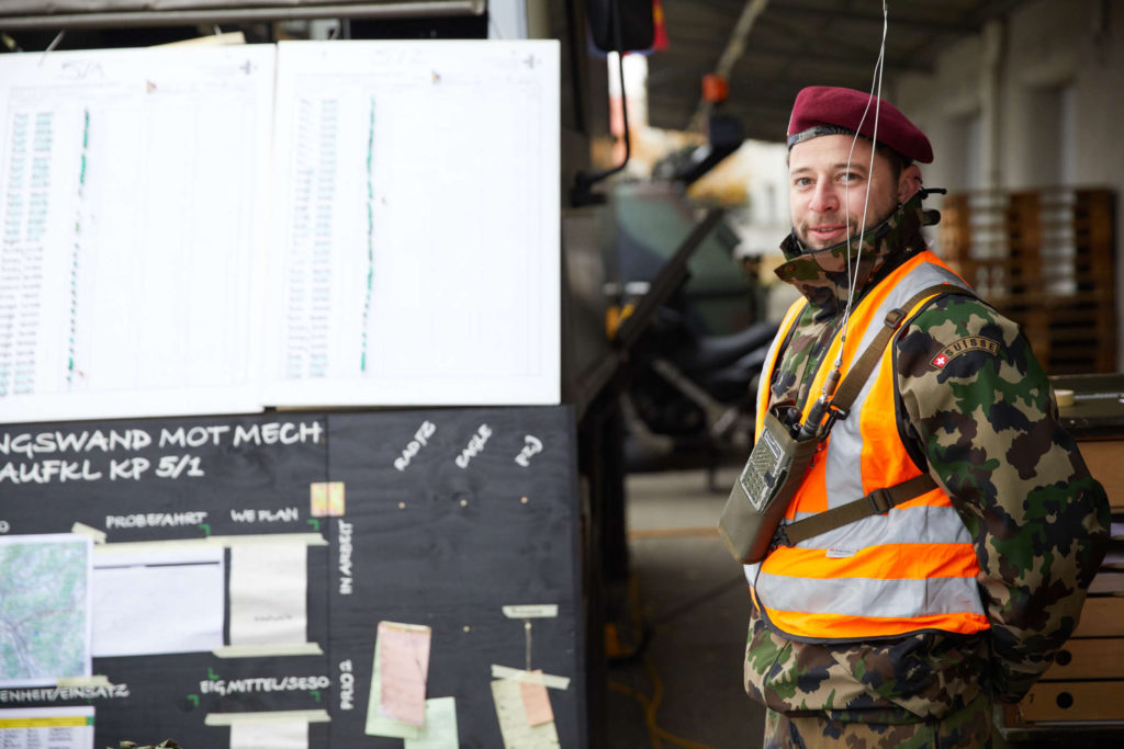 Wm Tanner von der Bataillons-Werkstatt steht für Fragen gerne zur Verfügung.