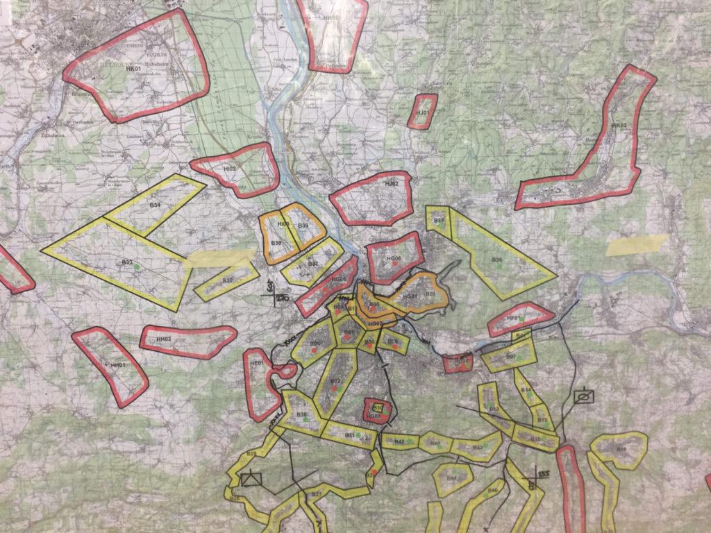 Beispiel einer BNB Karte auf Stufe Inf Br